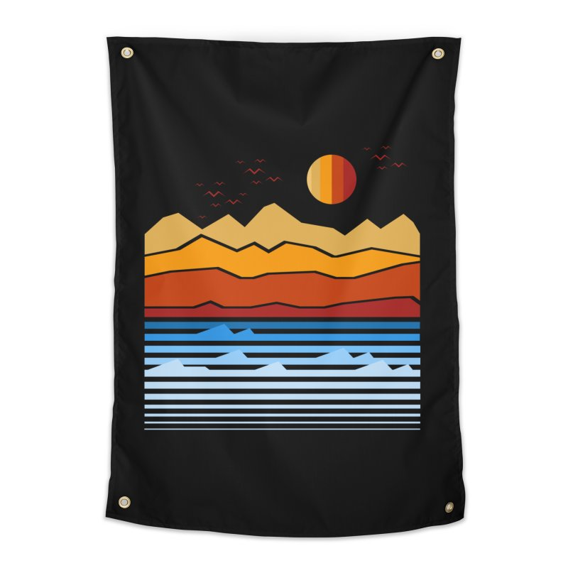 the land Home Tapestry by jun21's Artist Shop