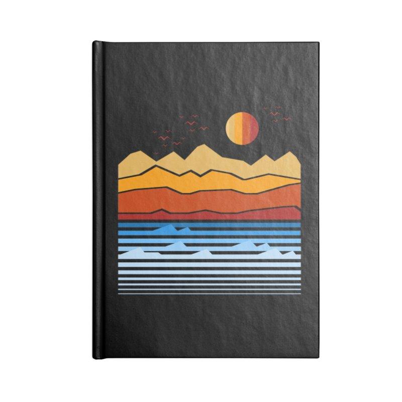 the land Accessories Notebook by jun21's Artist Shop
