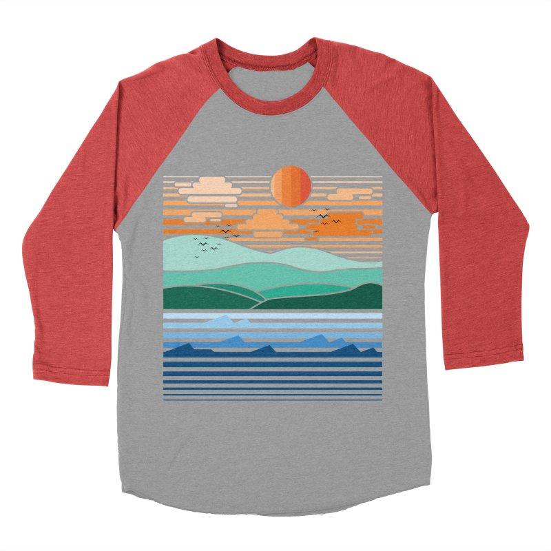 the forest Men's Baseball Triblend T-Shirt by jun21's Artist Shop