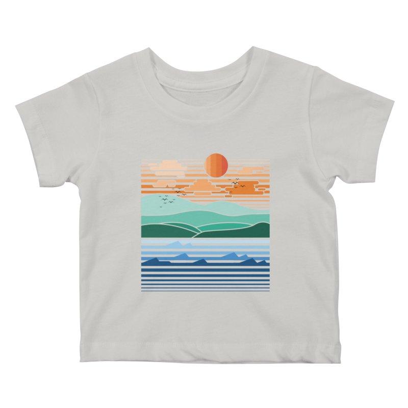 the forest Kids Baby T-Shirt by jun21's Artist Shop