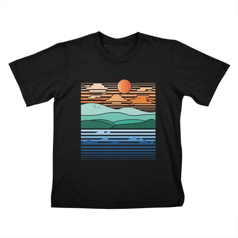 the forest Kids T-Shirt by jun21's Artist Shop