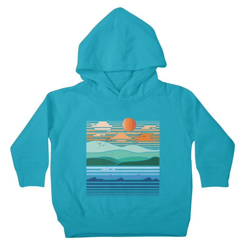 the forest Kids Toddler Pullover Hoody by jun21's Artist Shop