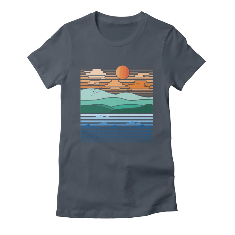 the forest Women's Fitted T-Shirt by jun21's Artist Shop