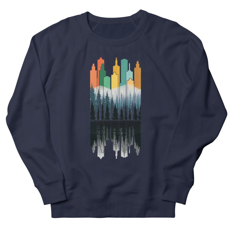 New City Women's Sweatshirt by jun21's Artist Shop