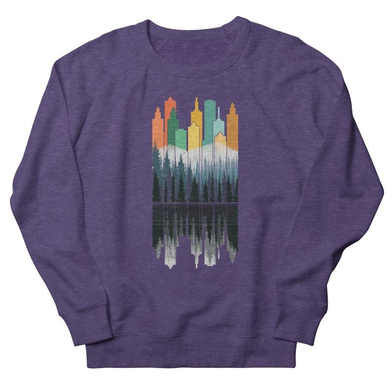 New City Men's Sweatshirt by jun21's Artist Shop