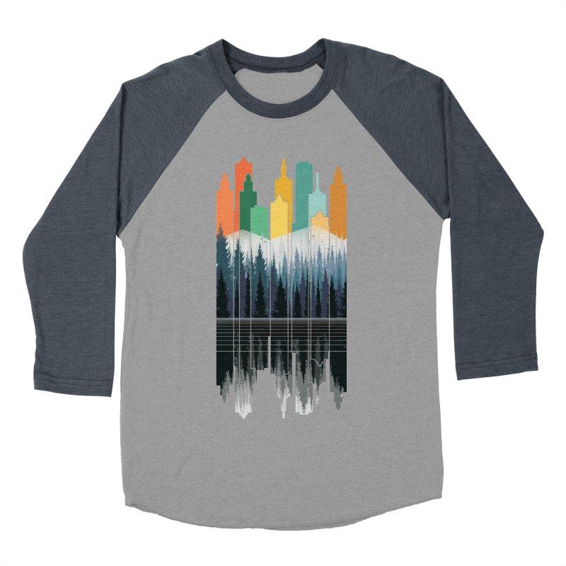 New City Women's Baseball Triblend T-Shirt by jun21's Artist Shop