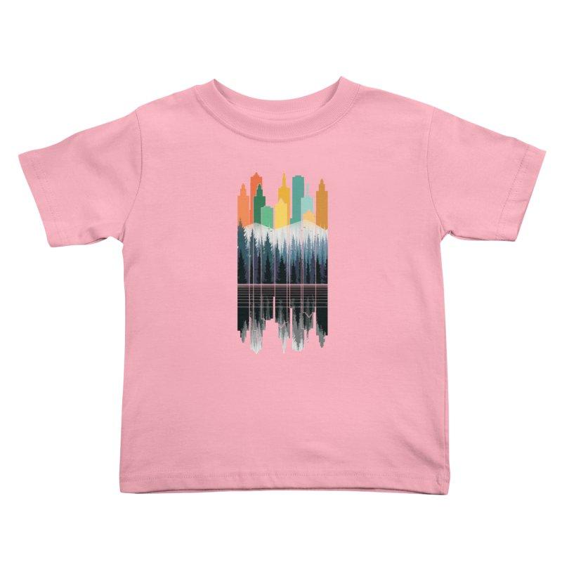 New City Kids Toddler T-Shirt by jun21's Artist Shop