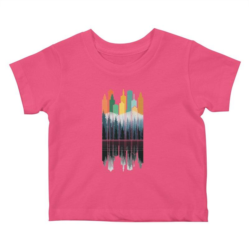 New City Kids Baby T-Shirt by jun21's Artist Shop