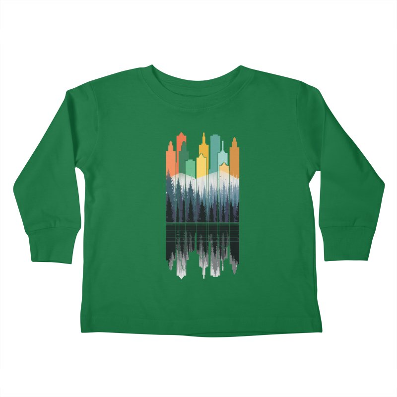 New City Kids Toddler Longsleeve T-Shirt by jun21's Artist Shop