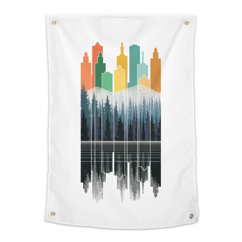 New City Home Tapestry by jun21's Artist Shop
