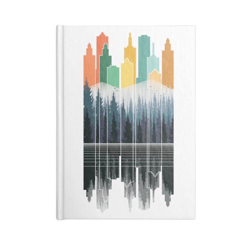 New City Accessories Notebook by jun21's Artist Shop