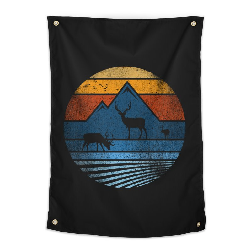 wild life #3 Home Tapestry by jun21's Artist Shop