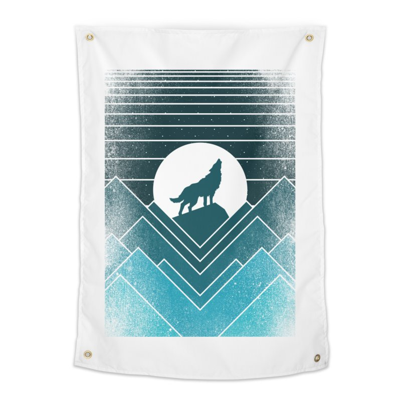 wolf life Home Tapestry by jun21's Artist Shop