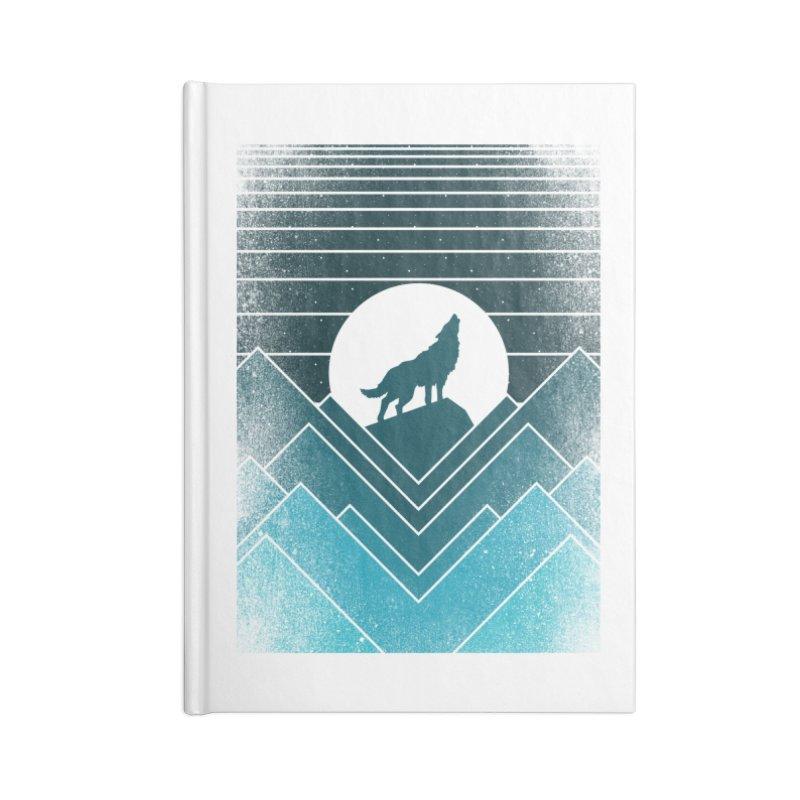 wolf life Accessories Notebook by jun21's Artist Shop