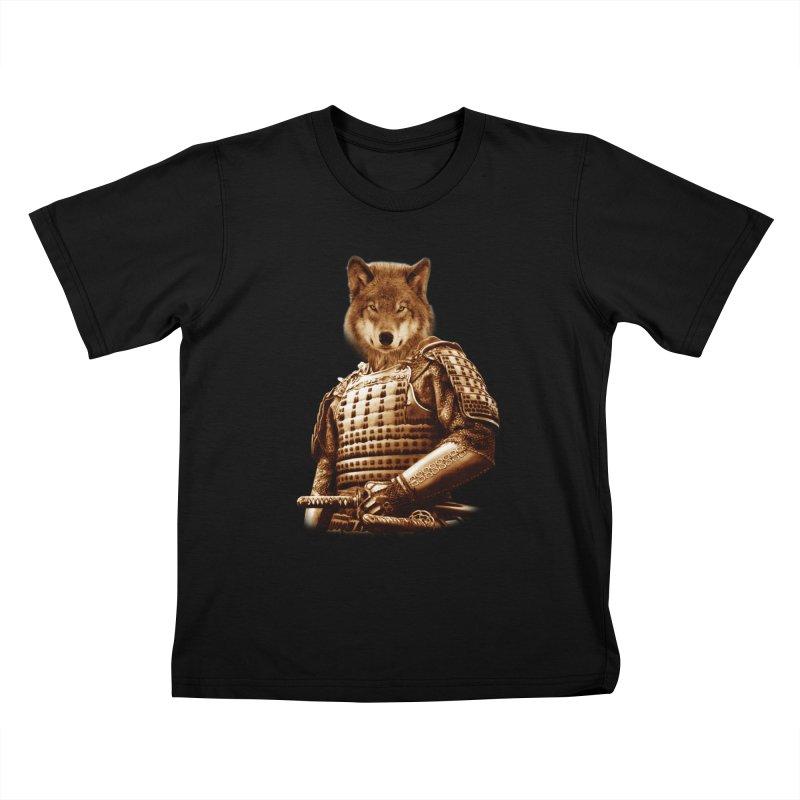 The last samurai  Kids T-shirt by jun21's Artist Shop