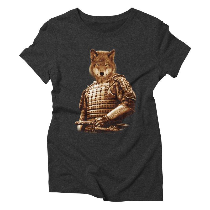 The last samurai  Women's Triblend T-shirt by jun21's Artist Shop