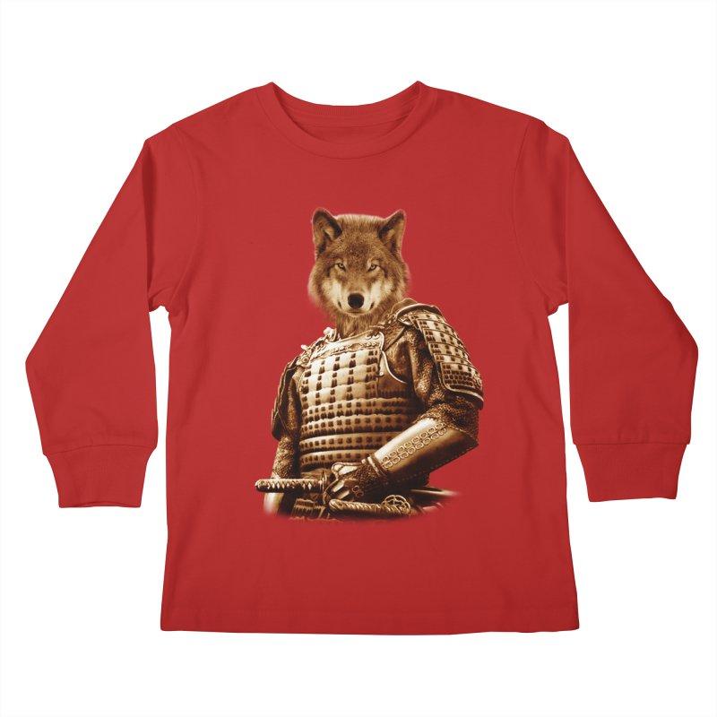 The last samurai  Kids Longsleeve T-Shirt by jun21's Artist Shop