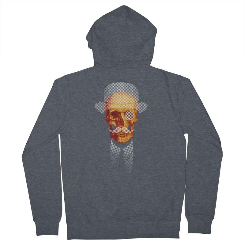 Mr. Skull Men's Zip-Up Hoody by jun21's Artist Shop