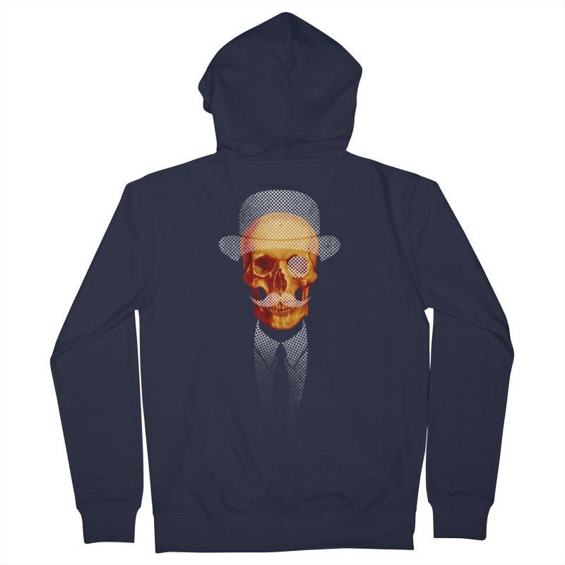Mr. Skull Men's Zip-Up Hoody by jun21's Artist Shop
