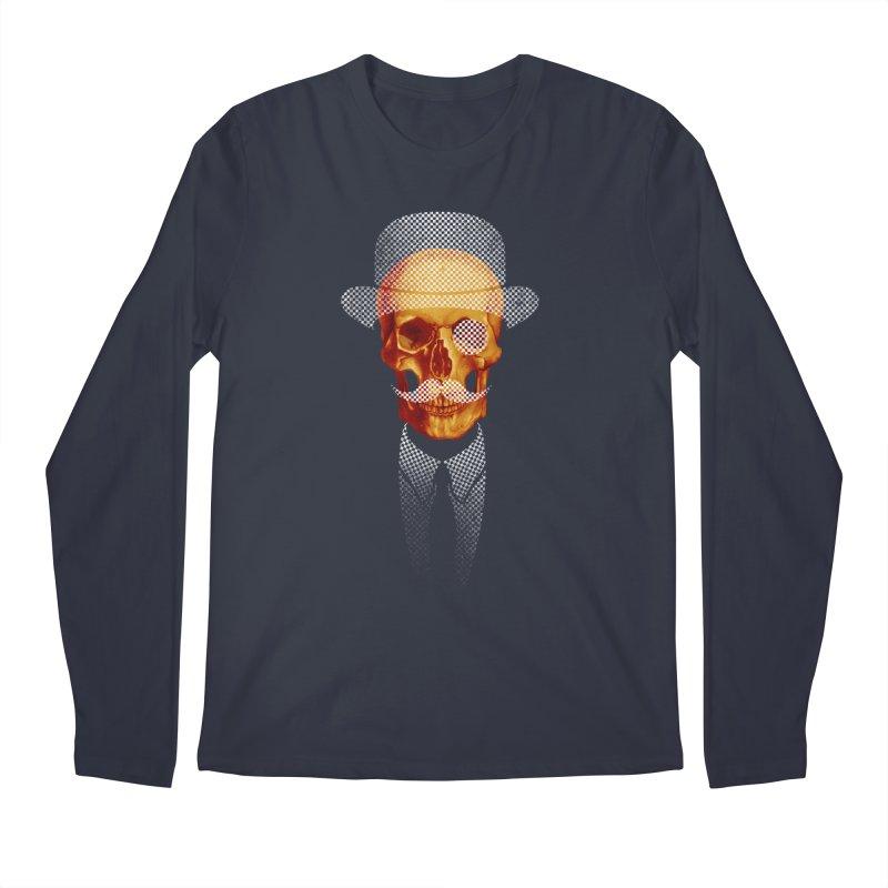 Mr. Skull Men's Longsleeve T-Shirt by jun21's Artist Shop