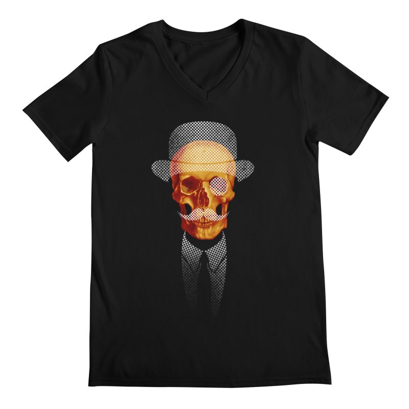 Mr. Skull Men's V-Neck by jun21's Artist Shop