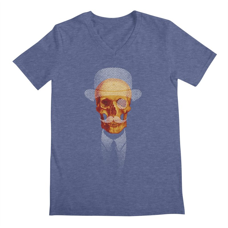 Mr. Skull Men's V-Neck by jun21's Artist Shop