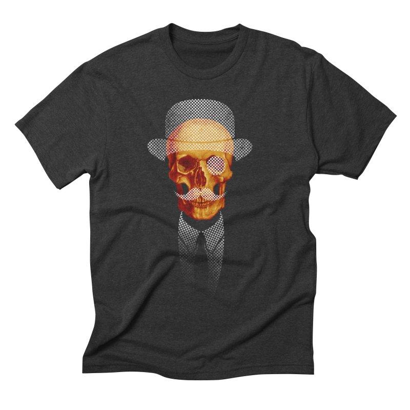 Mr. Skull Men's Triblend T-shirt by jun21's Artist Shop
