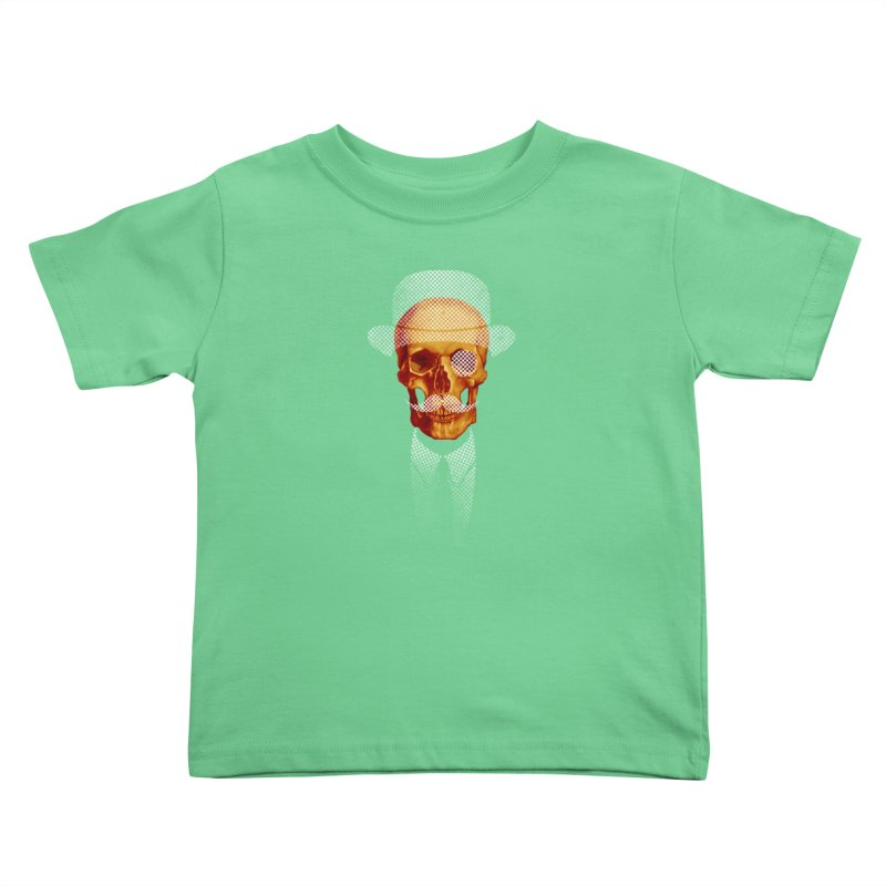 Mr. Skull Kids Toddler T-Shirt by jun21's Artist Shop