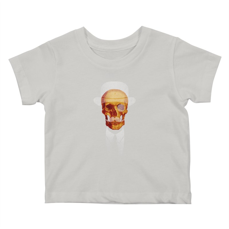 Mr. Skull Kids Baby T-Shirt by jun21's Artist Shop