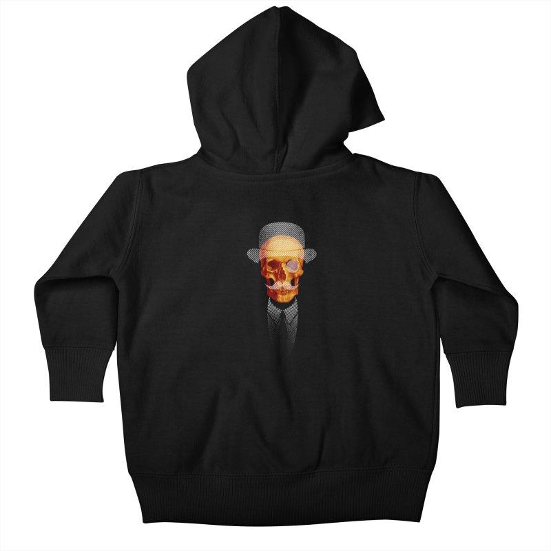 Mr. Skull Kids Baby Zip-Up Hoody by jun21's Artist Shop