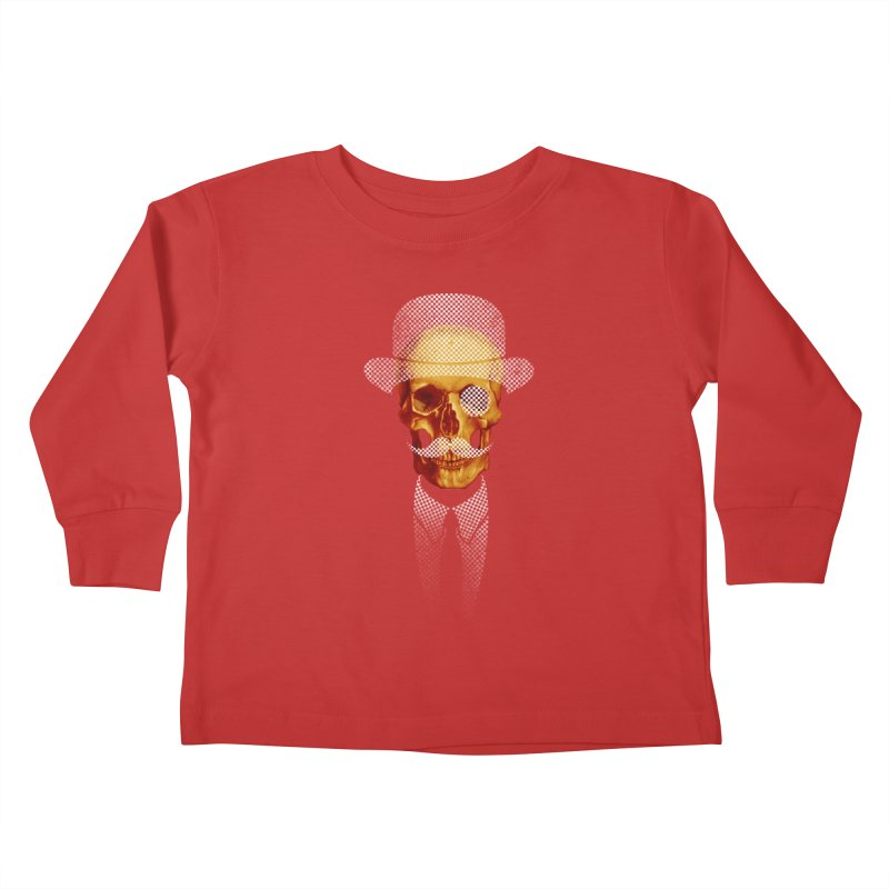 Mr. Skull Kids Toddler Longsleeve T-Shirt by jun21's Artist Shop