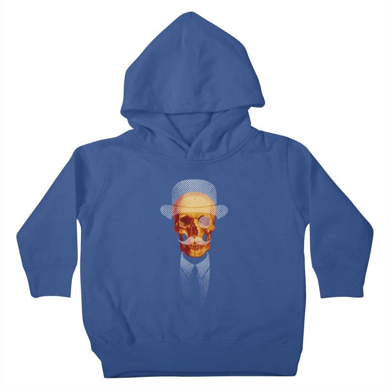Mr. Skull Kids Toddler Pullover Hoody by jun21's Artist Shop