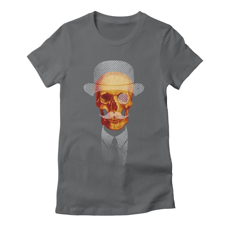 Mr. Skull Women's Fitted T-Shirt by jun21's Artist Shop