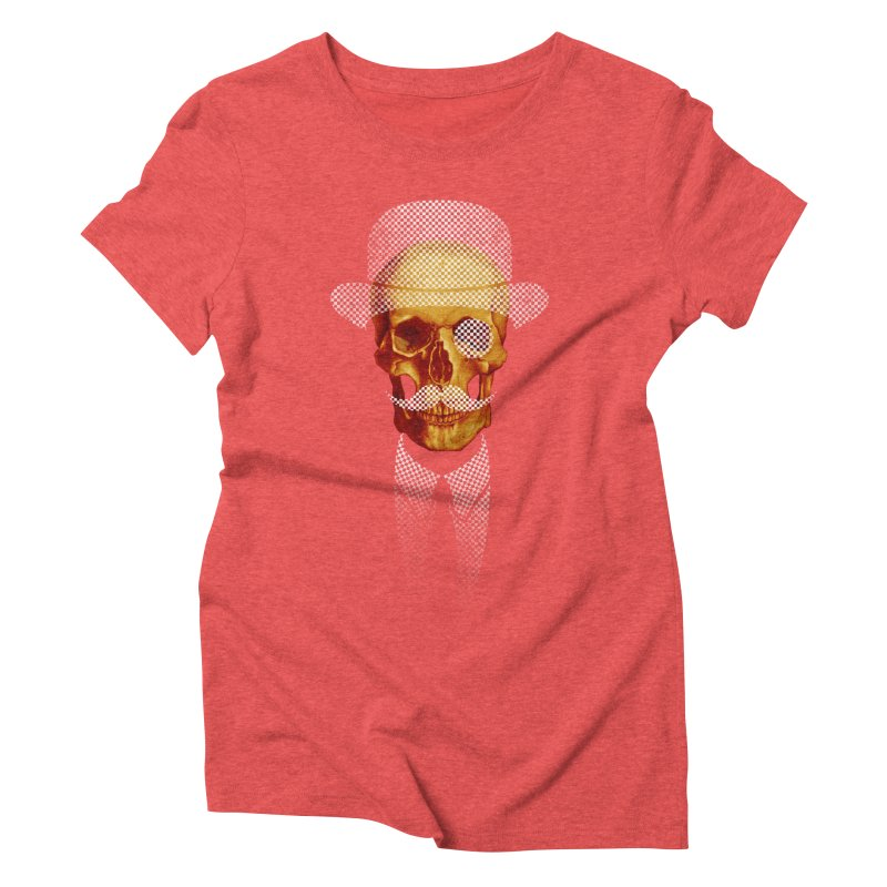 Mr. Skull Women's Triblend T-Shirt by jun21's Artist Shop