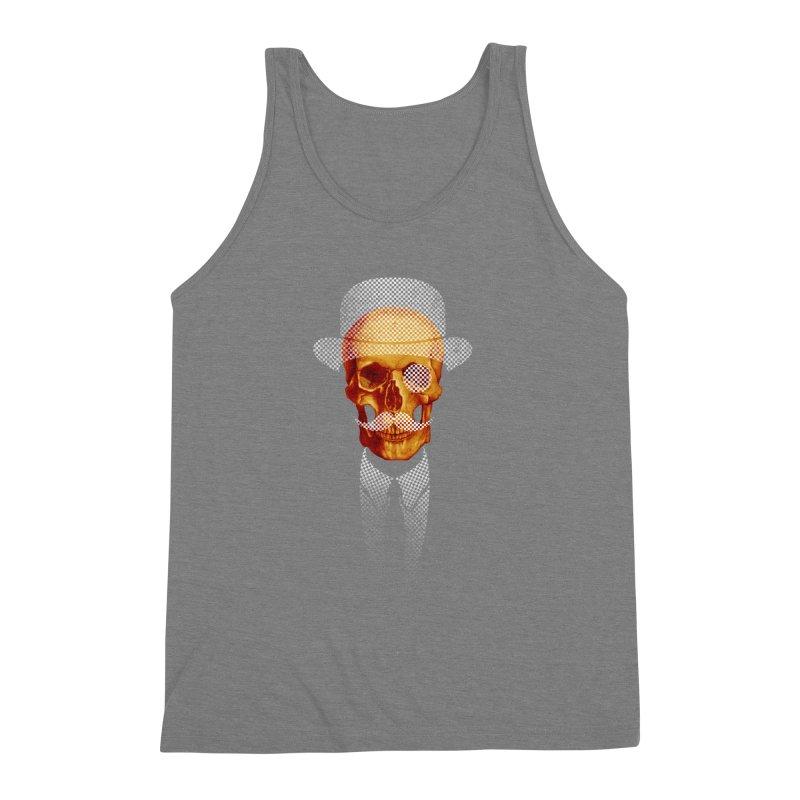 Mr. Skull Men's Triblend Tank by jun21's Artist Shop