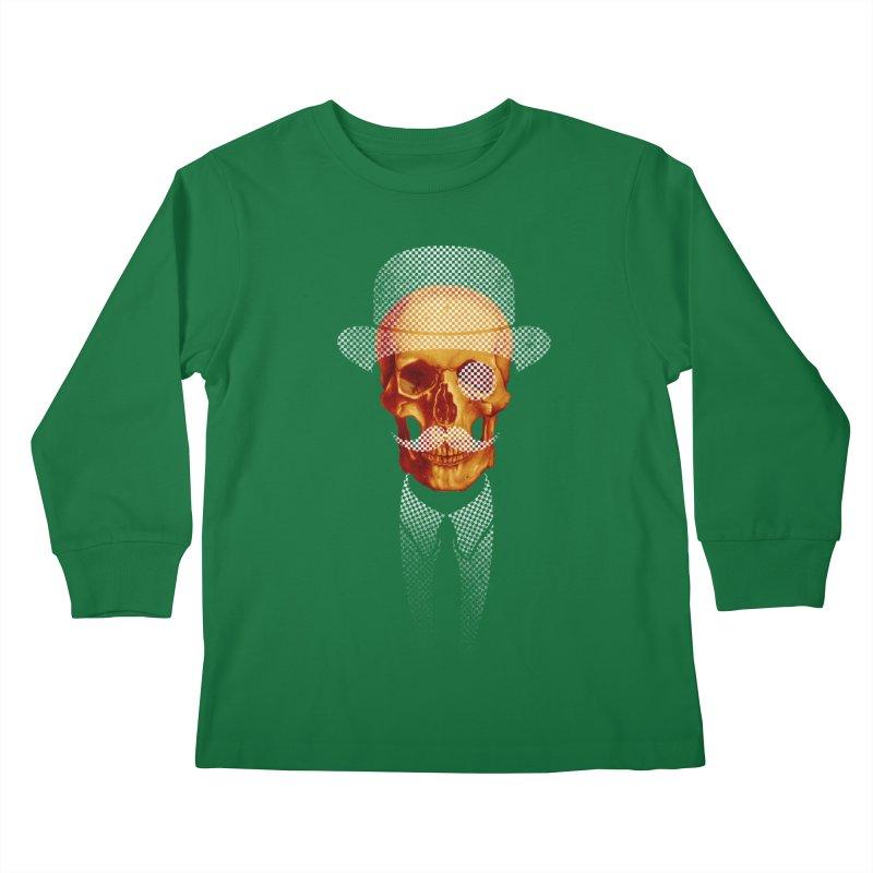 Mr. Skull Kids Longsleeve T-Shirt by jun21's Artist Shop