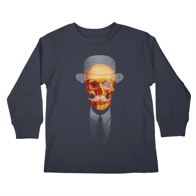 Mr. Skull Kids Longsleeve T-Shirt by jun21's Artist Shop