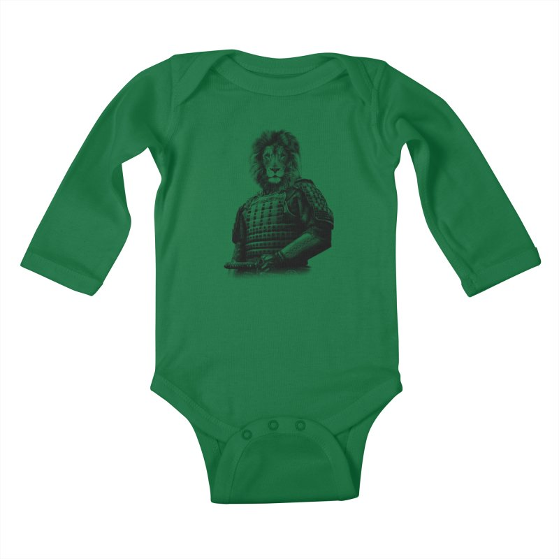 The Last Samurai #2 Kids Baby Longsleeve Bodysuit by jun21's Artist Shop