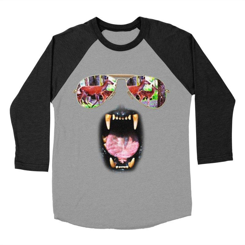 hunting time #2 Men's Baseball Triblend T-Shirt by jun21's Artist Shop