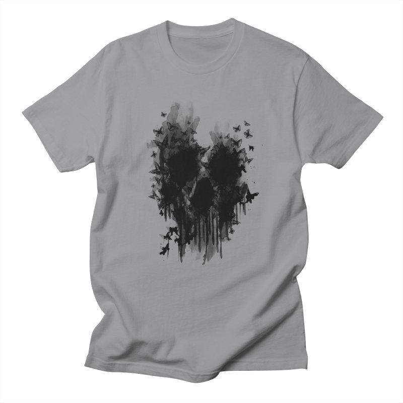 butterfly skull  Men's T-shirt by jun21's Artist Shop