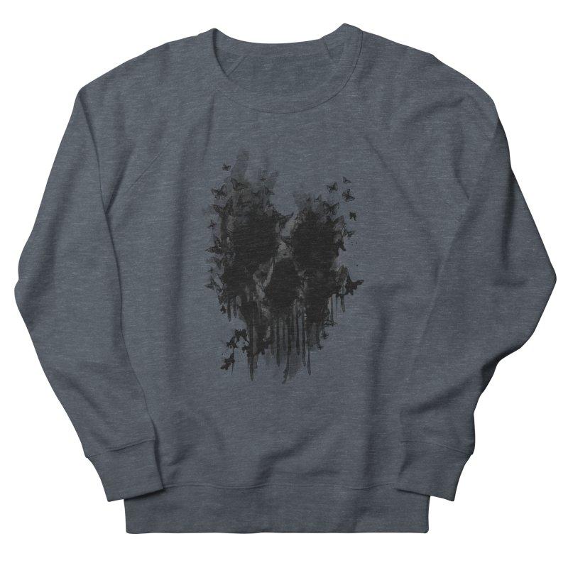butterfly skull  Women's Sweatshirt by jun21's Artist Shop