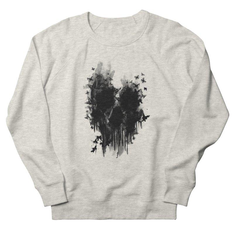 butterfly skull  Men's Sweatshirt by jun21's Artist Shop