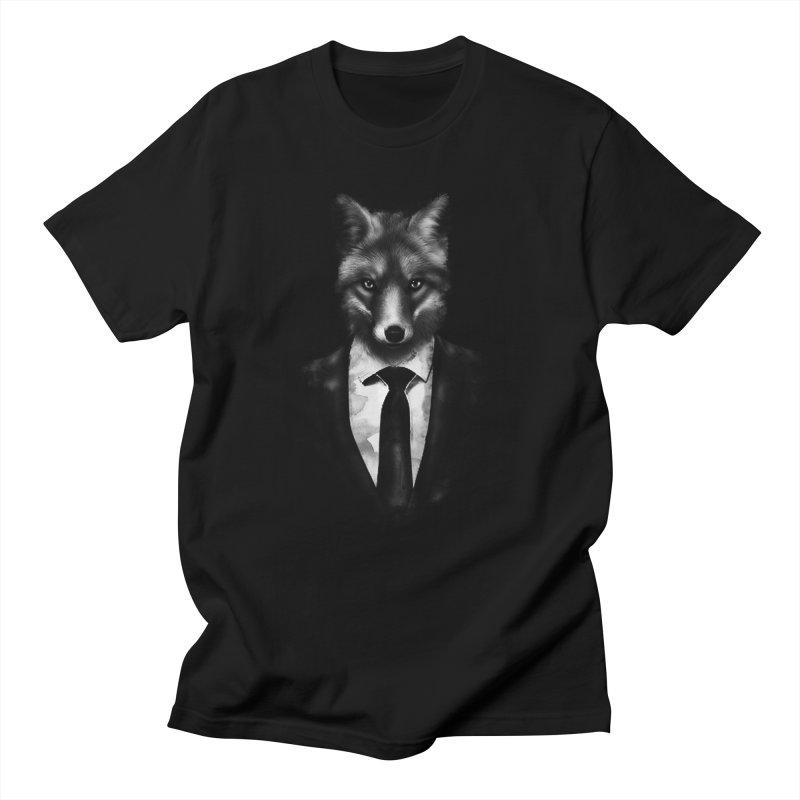 Mr. Fox  Men's T-shirt by jun21's Artist Shop