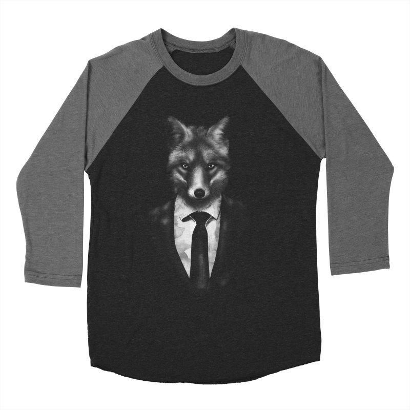 Mr. Fox  Men's Baseball Triblend T-Shirt by jun21's Artist Shop