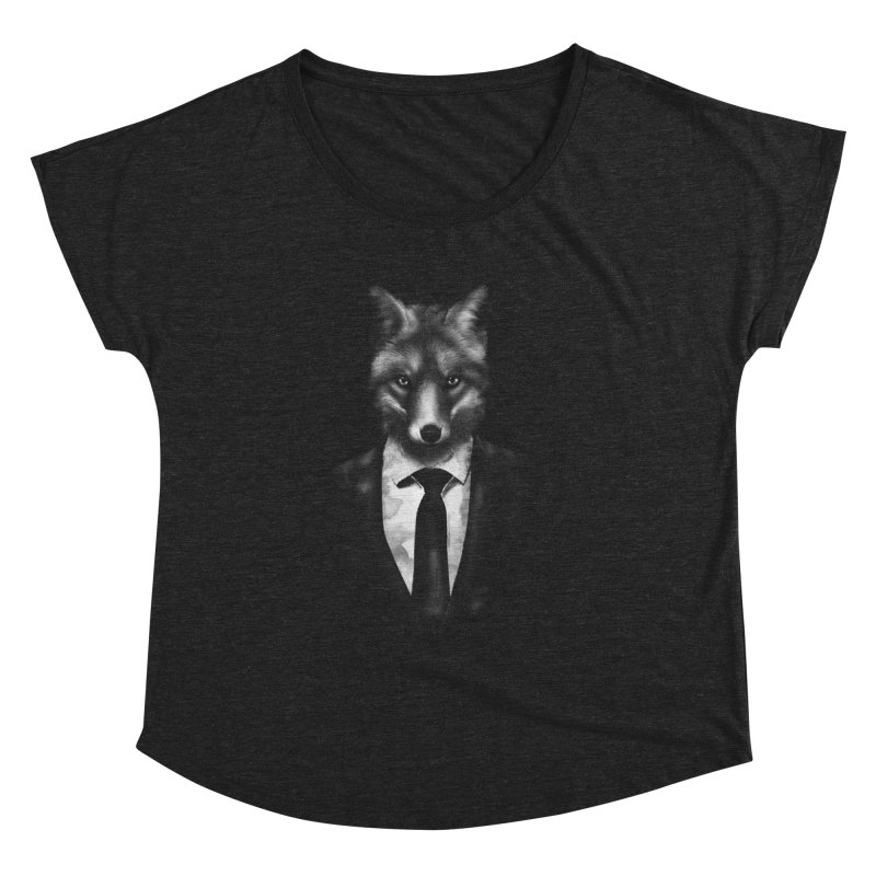 Mr. Fox  Women's Dolman by jun21's Artist Shop