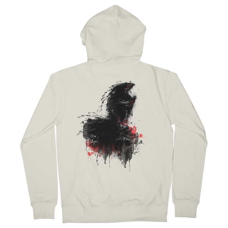 300 Men's Zip-Up Hoody by jun21's Artist Shop