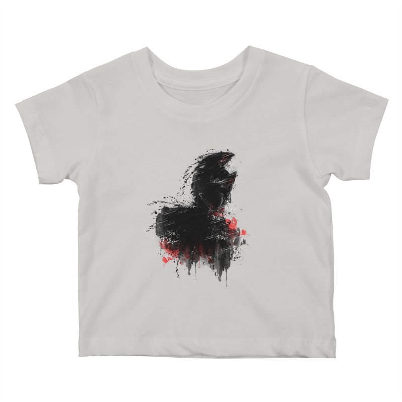 300 Kids Baby T-Shirt by jun21's Artist Shop
