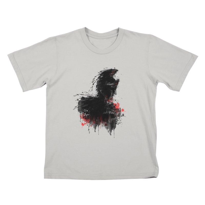 300 Kids T-shirt by jun21's Artist Shop