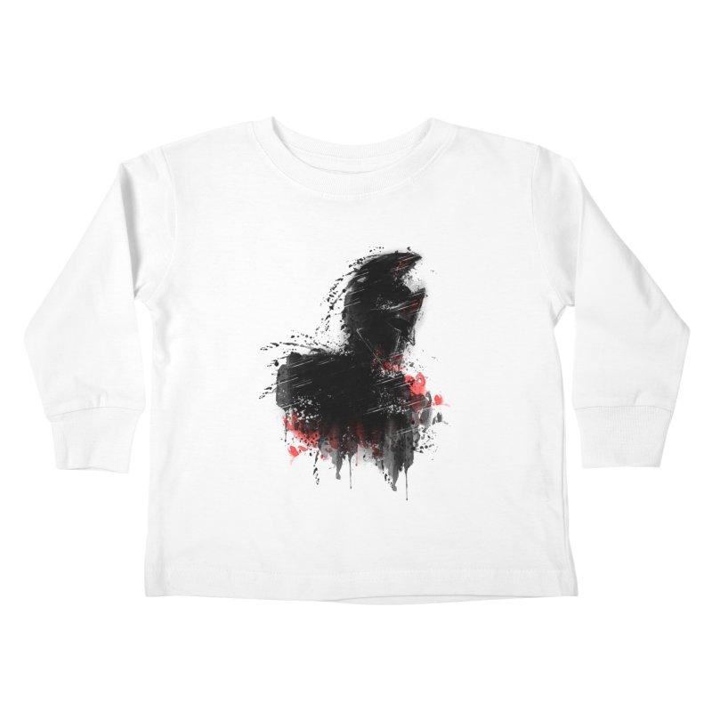 300 Kids Toddler Longsleeve T-Shirt by jun21's Artist Shop