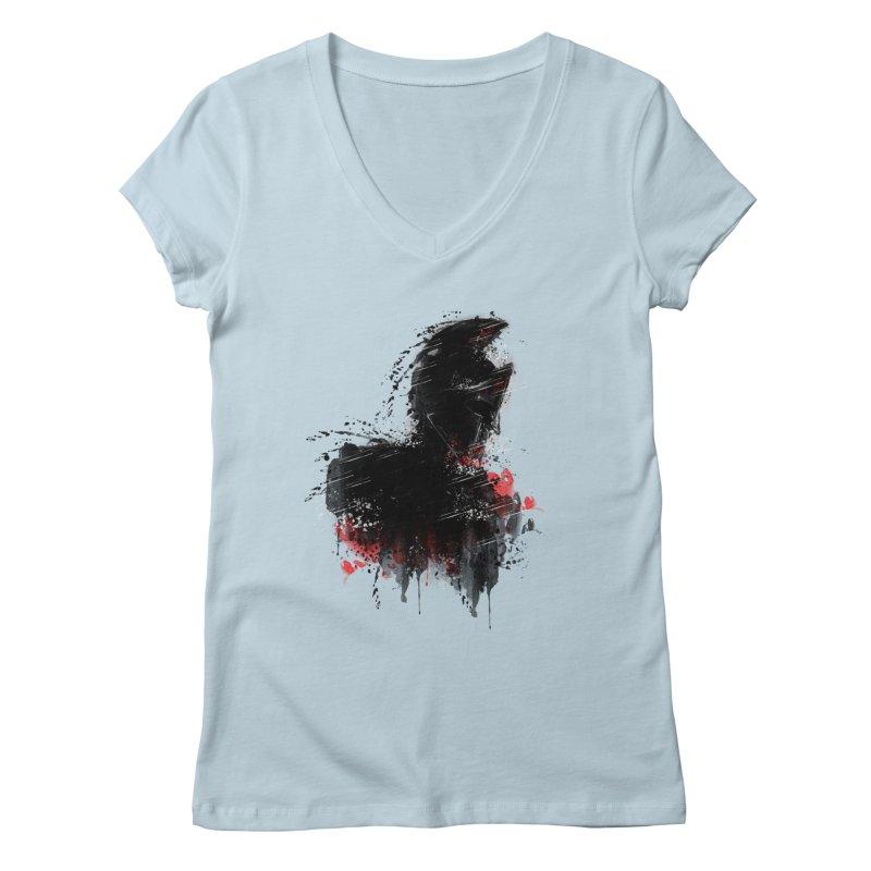 300 Women's V-Neck by jun21's Artist Shop
